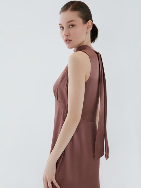 Платье А-силуэта - фото 5
