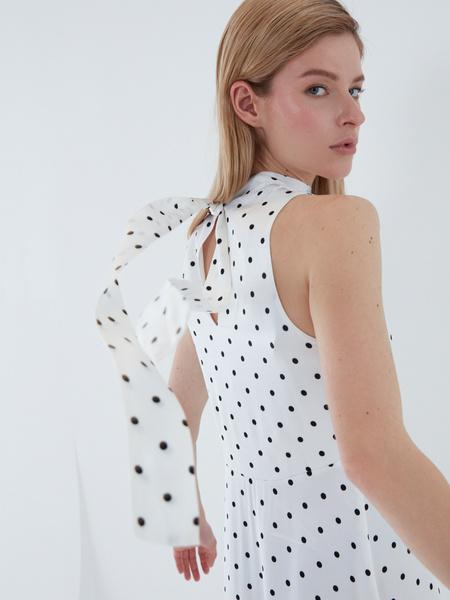 Платье А-силуэта - фото 6
