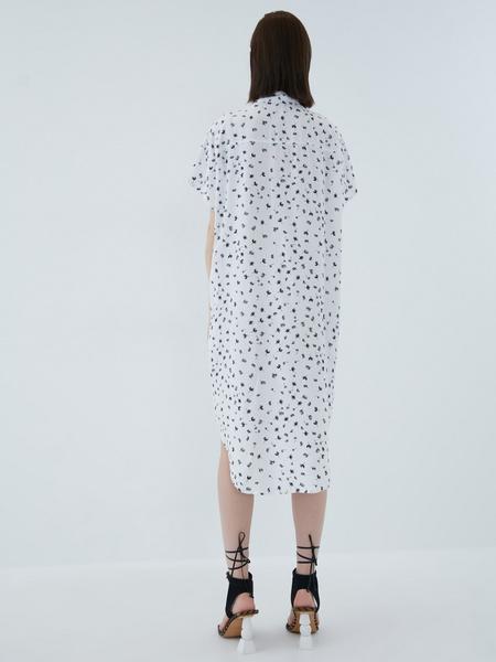 Платье из вискозы - фото 15