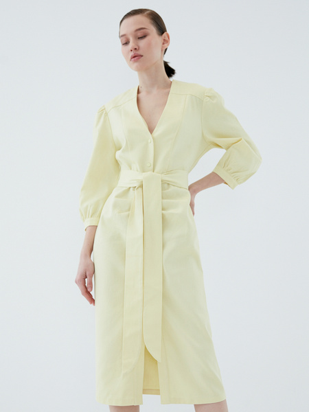 Платье из хлопка - фото 3