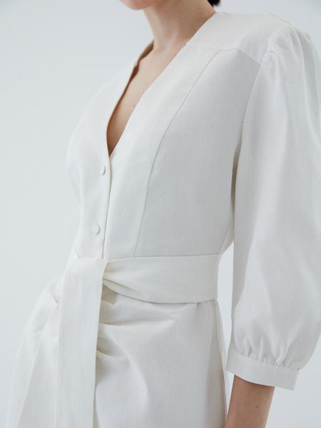 Платье из хлопка - фото 5