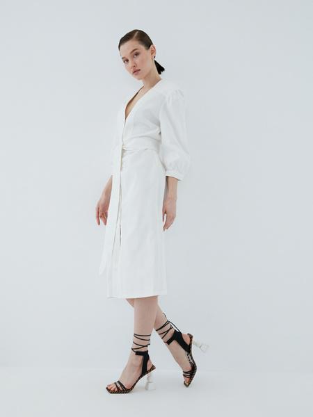Платье из хлопка - фото 8