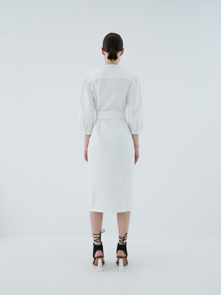 Платье из хлопка - фото 10