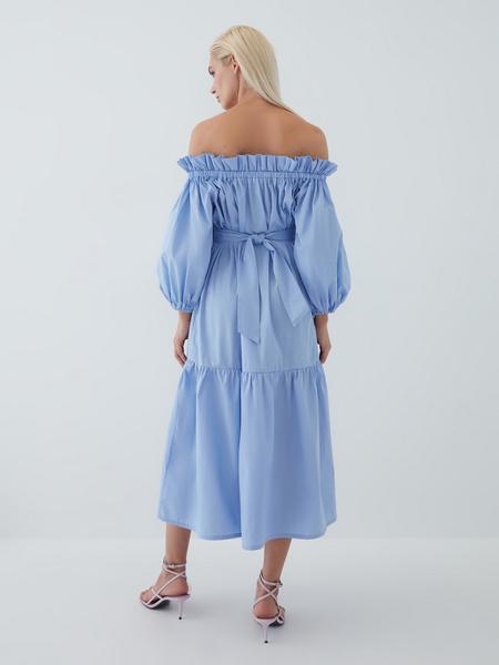 Платье с воланами - фото 15