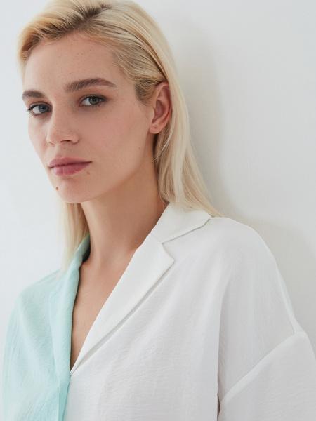 Комбинированная блузка - фото 3