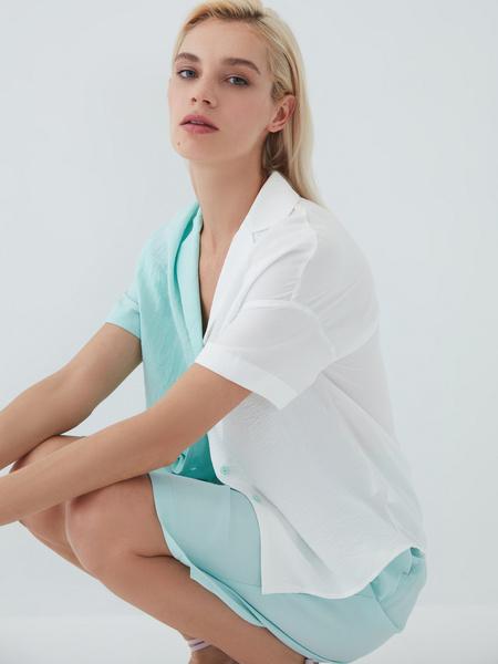 Комбинированная блузка - фото 4