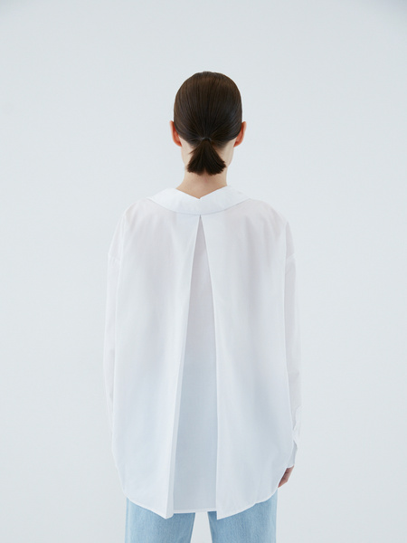 Блузка с карманом - фото 8