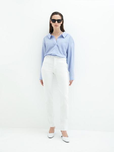 Блузка с карманом - фото 1