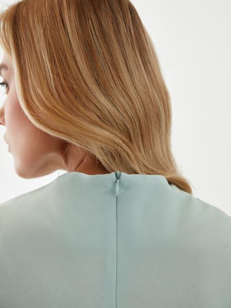 Блузка с драпировкой - фото 8