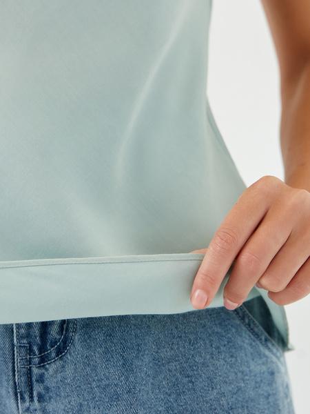 Блузка с драпировкой - фото 9