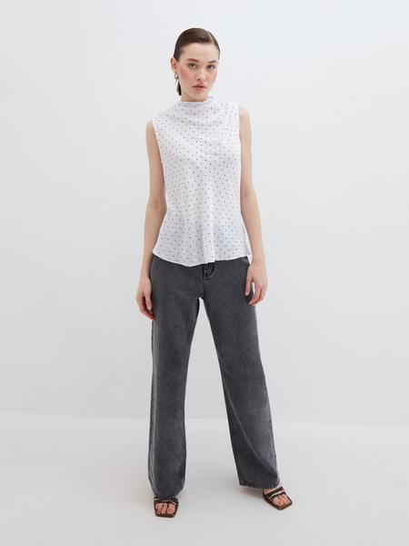 Блузка с драпировкой - фото 2