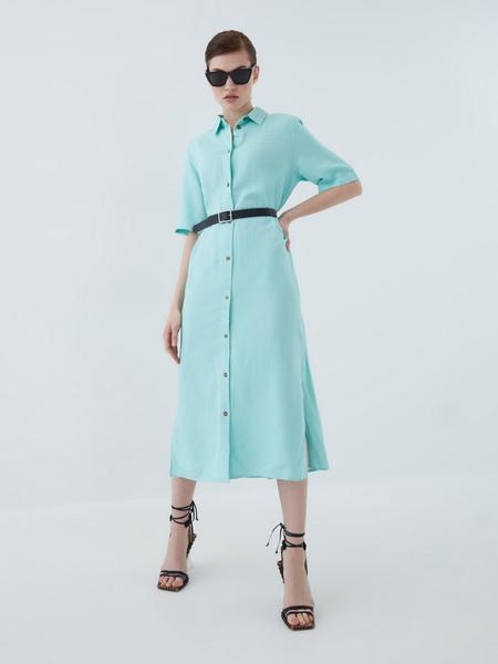 Платье из вискозы - фото 1