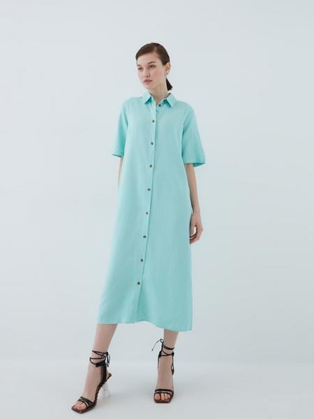 Платье из вискозы - фото 2
