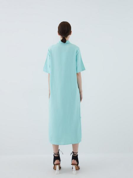Платье из вискозы - фото 10