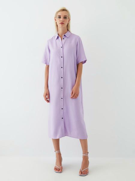 Платье из вискозы - фото 12