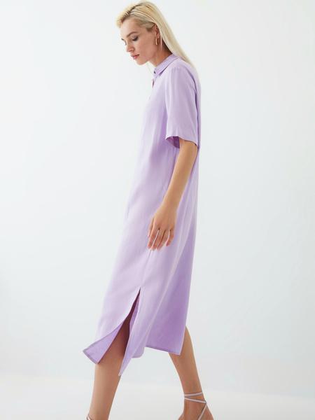 Платье из вискозы - фото 8