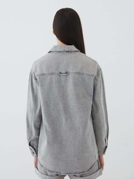 Джинсовая рубашка - фото 13