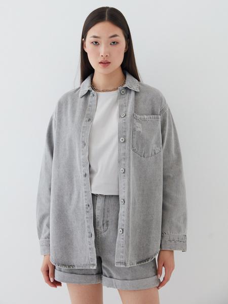 Джинсовая рубашка - фото 3