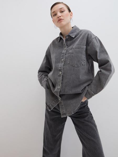 Джинсовая рубашка - фото 1