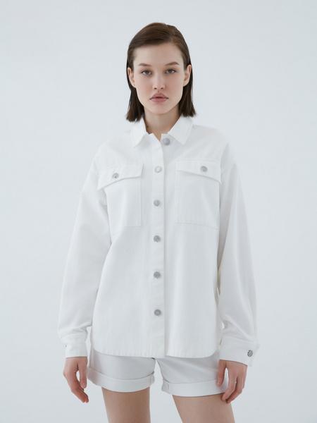 Джинсовая рубашка - фото 2