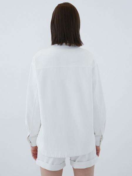 Джинсовая рубашка - фото 15