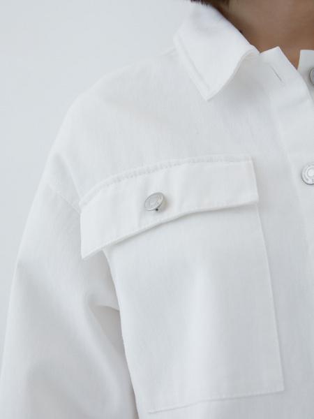 Джинсовая рубашка - фото 4