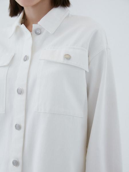 Джинсовая рубашка - фото 5