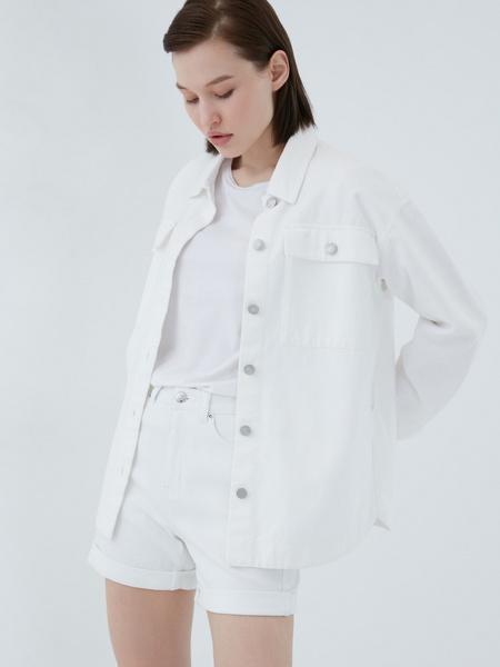 Джинсовая рубашка - фото 8