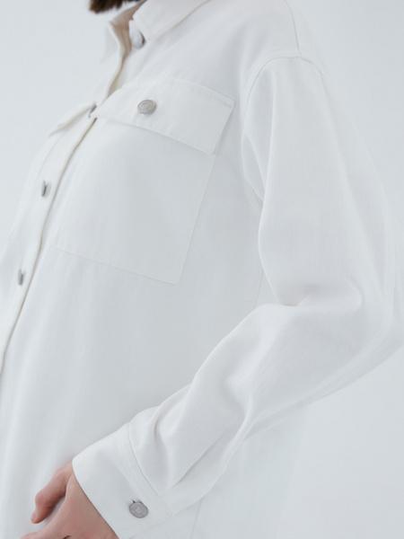 Джинсовая рубашка - фото 10