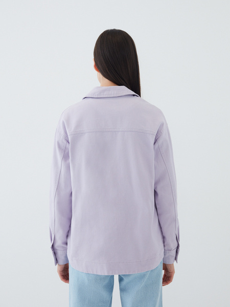 Джинсовая рубашка - фото 9