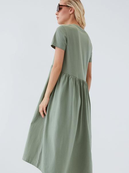 Платье-футболка - фото 7