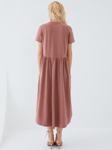 Платье-футболка - фото 10