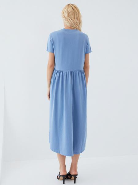 Платье-футболка - фото 8