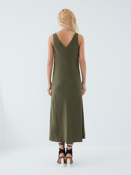 Струящееся платье - фото 3