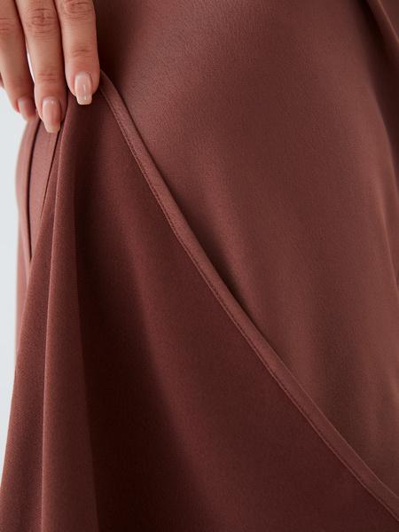 Струящееся платье - фото 6