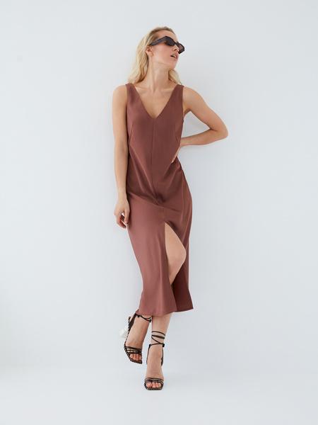 Струящееся платье - фото 7