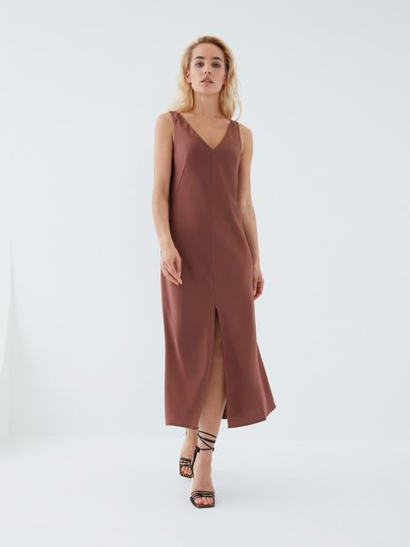 Струящееся платье - фото 8