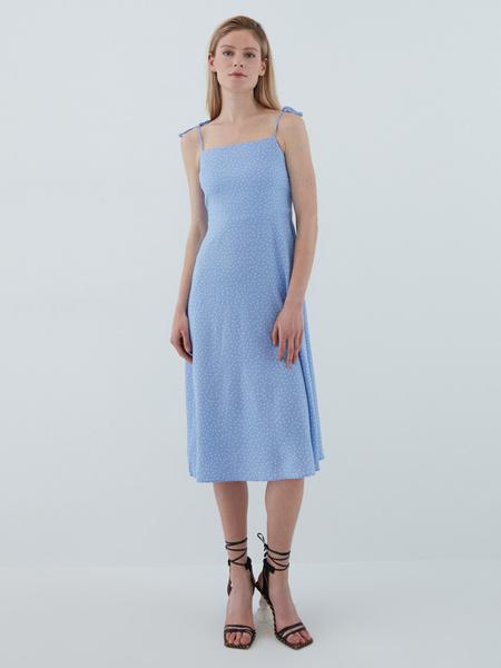 Платье с завязками - фото 1