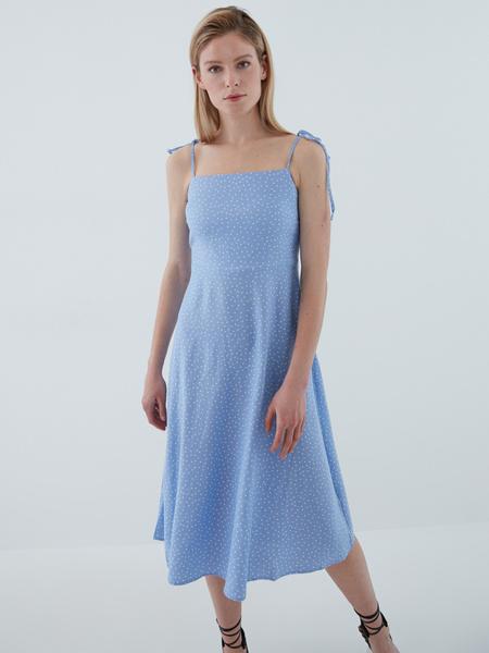 Платье с завязками - фото 2