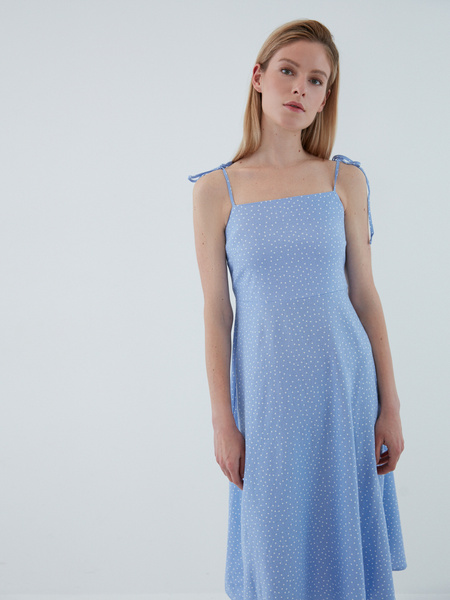 Платье с завязками - фото 3