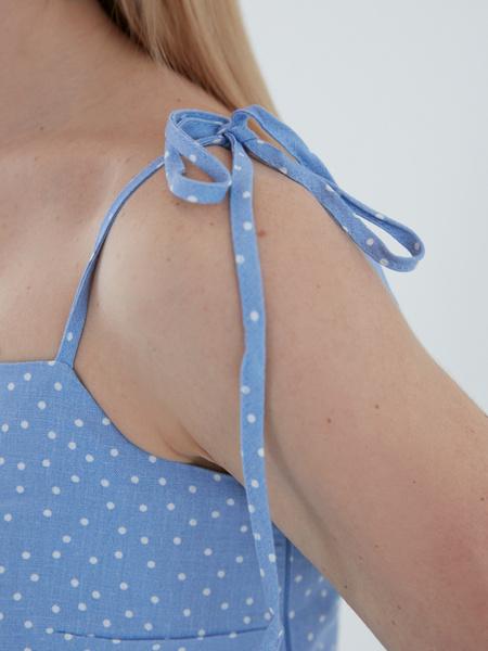 Платье с завязками - фото 4