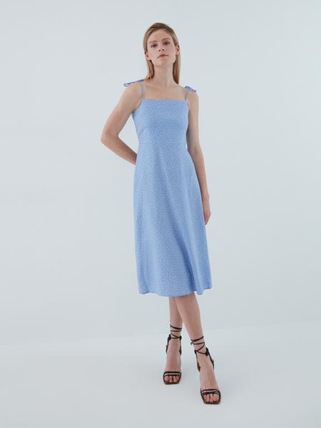Платье с завязками - фото 7