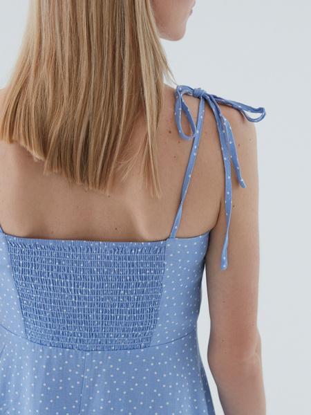 Платье с завязками - фото 8