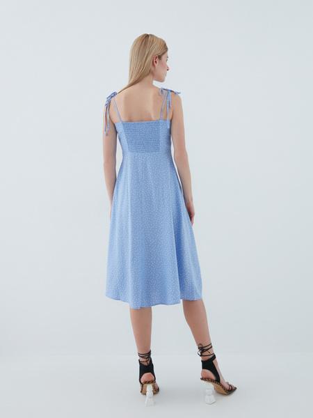 Платье с завязками - фото 9