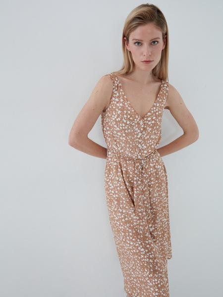 Платье с поясом - фото 2