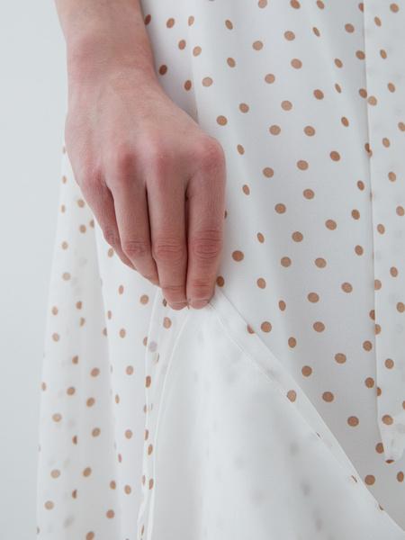 Платье с поясом - фото 6