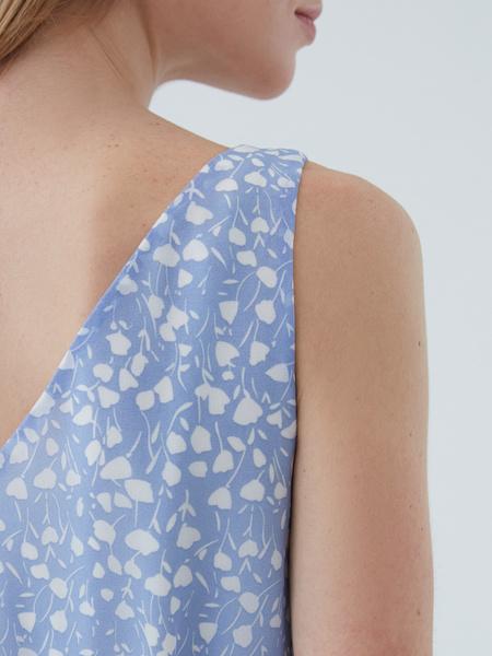 Платье с поясом - фото 4