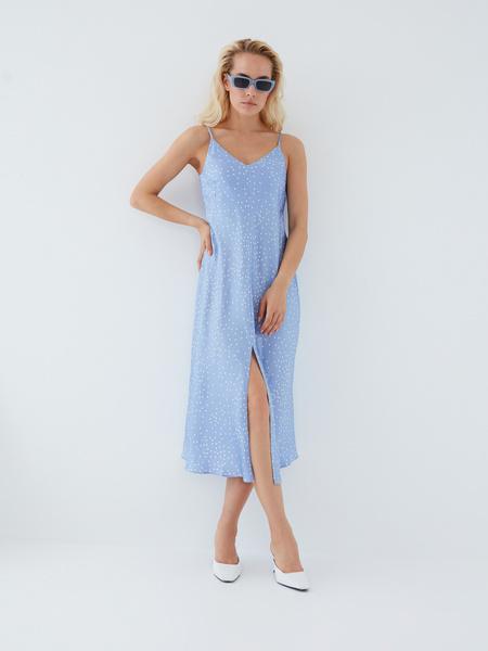 Платье с принтом - фото 1