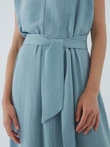 Платье с подплечниками - фото 5