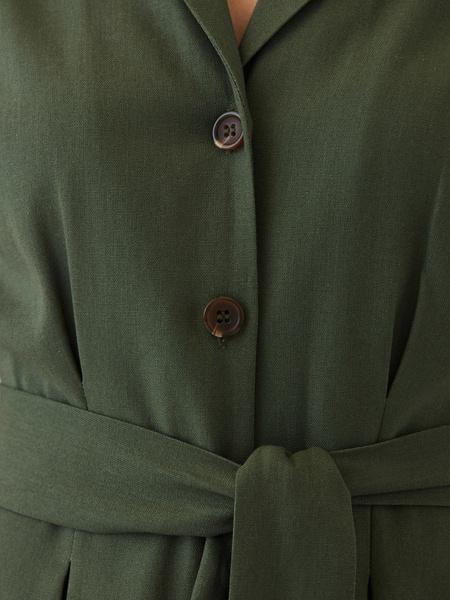 Платье изо льна - фото 5